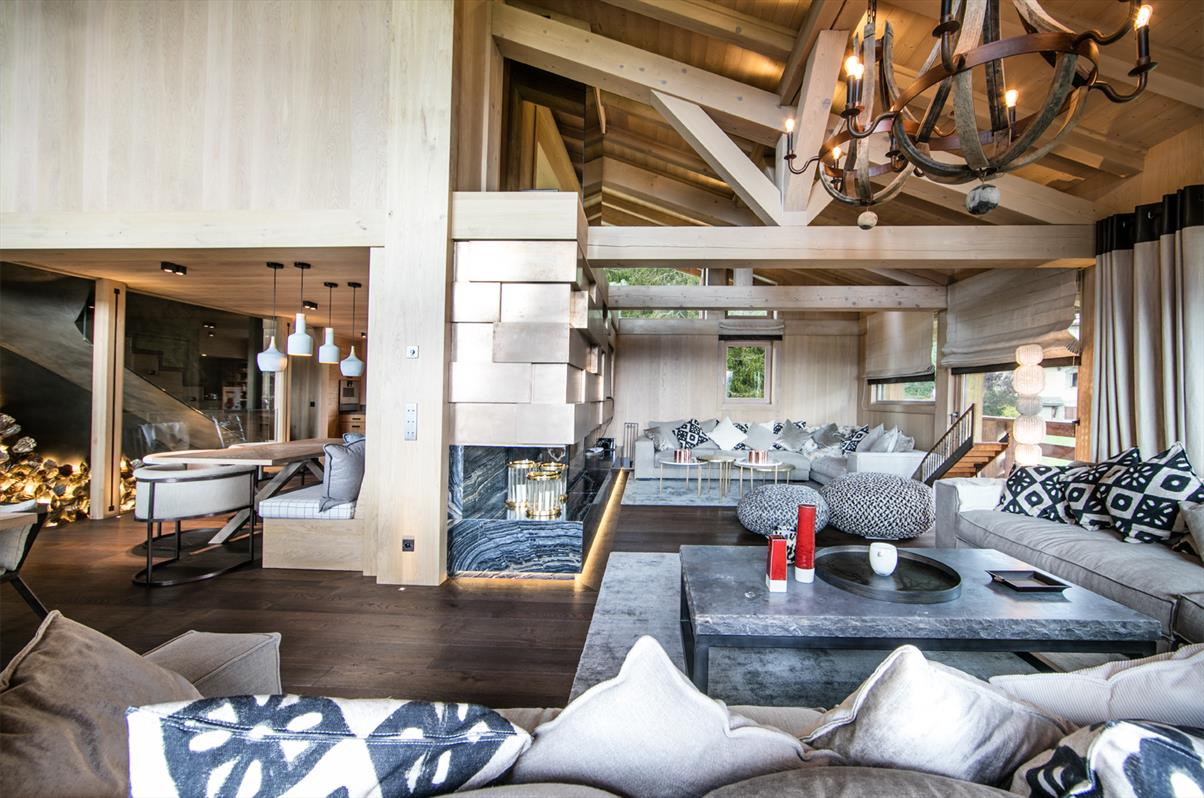See details MEGEVE Villa 8 rooms, 5 bedrooms